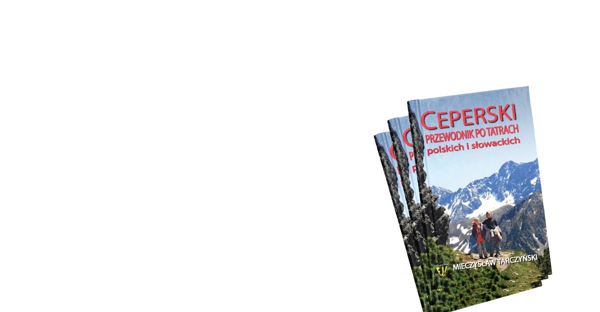 zestaw książek ceperskiego