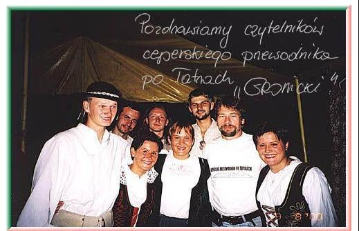 Tarczyński i zespół Gromnicki