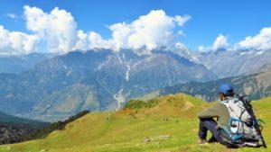 podziwianie majestatu gór