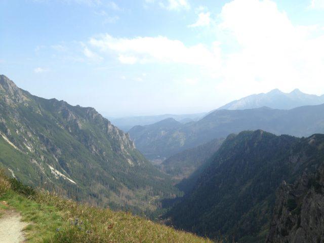 widok na piękne Tatry