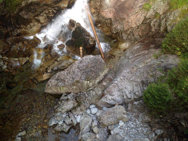 potok, mały wodospad w tatrach
