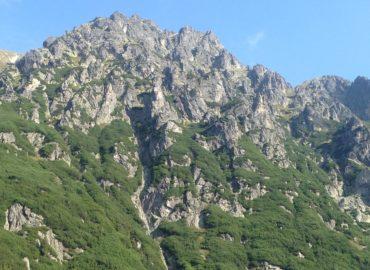 widoki ze szlaku po Tatrach