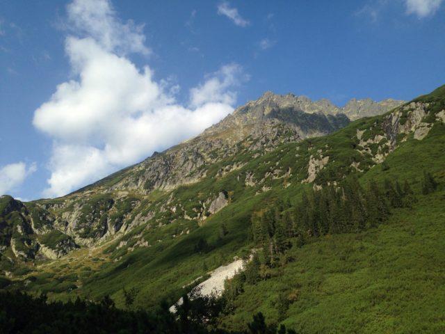 piękne widoki na Tatry