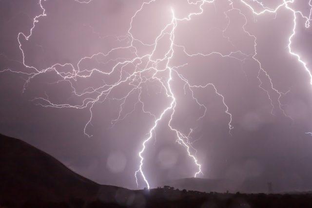 burza w Tatrach