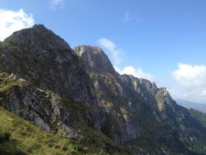 widok z trasy na Giewont
